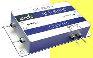 EMCIS BF Series EMI Filters