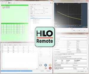 HILO-TEST Remote Control Software