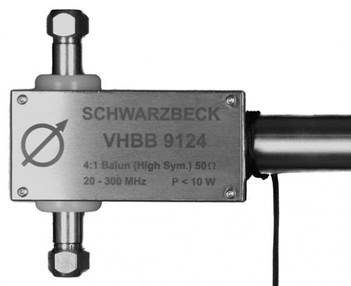 Schwarbeck Antenna Holder Balun for Bicon - Broad Band Antenna VHBB 9124