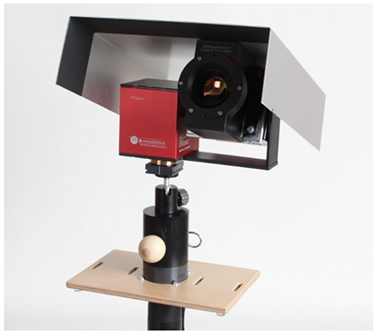 mk-messtechnik Infrared camera opto-LWIR with PT Unit and Shroud for outside installation