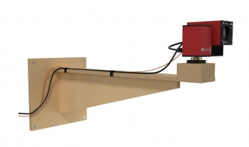 Wallmount - long version for the use between pyramid absorbers