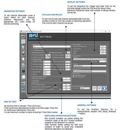 AFJ DDA55+ Click Meter Menu