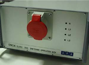AFJ SW04 CISPR 14-1 Switching Box Front