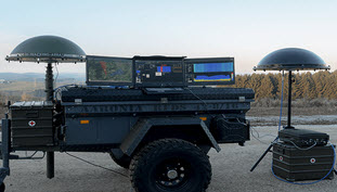 Aaronia Drone Detection System - Truck Mounted