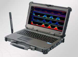 Aaronia SPECTRAN HF-XFR PRO Rugged Outdoor Sweep Spectrum Analyzer - Military Standard