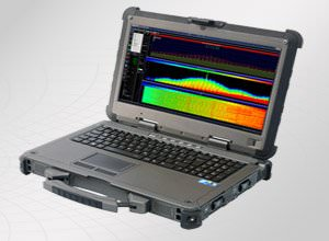 Aaronia SPECTRAN NF-XFR PRO Rugged Outdoor Sweep Spectrum Analyzer - Military Standard