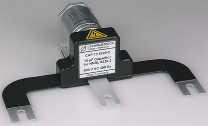 Schwarzbeck CAP 10 8226-2 10uf Capacitor for NNBL 8226-2 500  AC 400 Hz