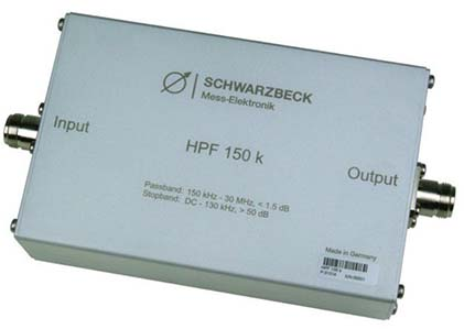Schwarzbeck HPF 150 k High Pass Filter