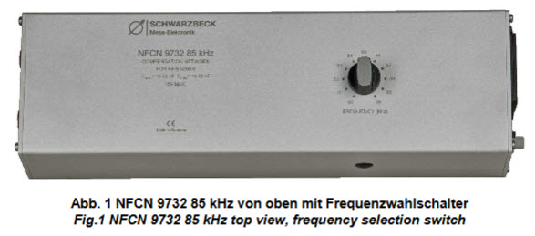 Schwarzbeck NFCN 9732 85 kHz - Compensation Network