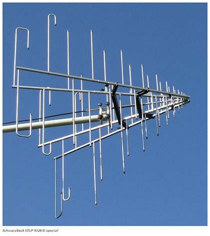 Schwarzbeck STLP 9128 D sp-7-16 Stacked Logarithmic Periodic Broadband Antenna