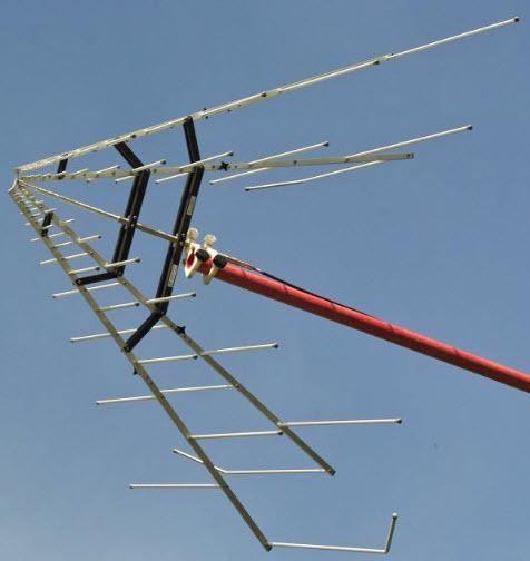 Schwarbeck Stacked Logarithmic Periodic Broadband Antenna STLP 9128 D Antenna