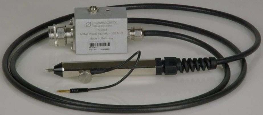 Schwarzbeck TK 9261 Active Voltage Probe 0.1-100MHz