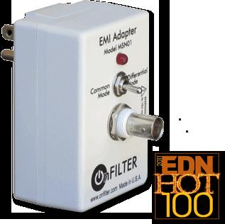 Plug in Power Line EMI Adapter
